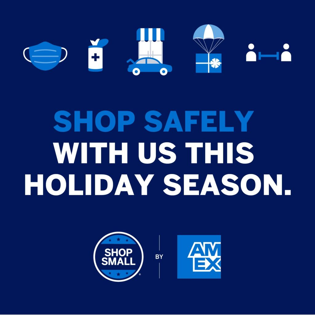 Shop safely Small Business Saturday
