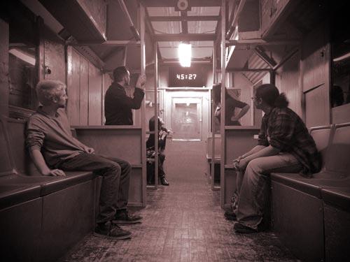 Escape Artistry team building event inside of train