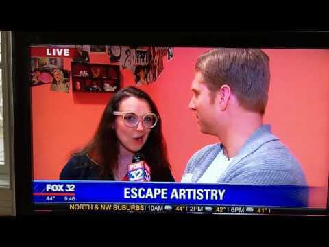 Maren Rosenberg, Escape Artistry Owner, Talks To FOX 32 Reporter