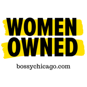 women owned Bossy Chicago logo