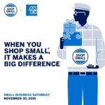 Shop Small This Saturday. Make A Big Impact.
