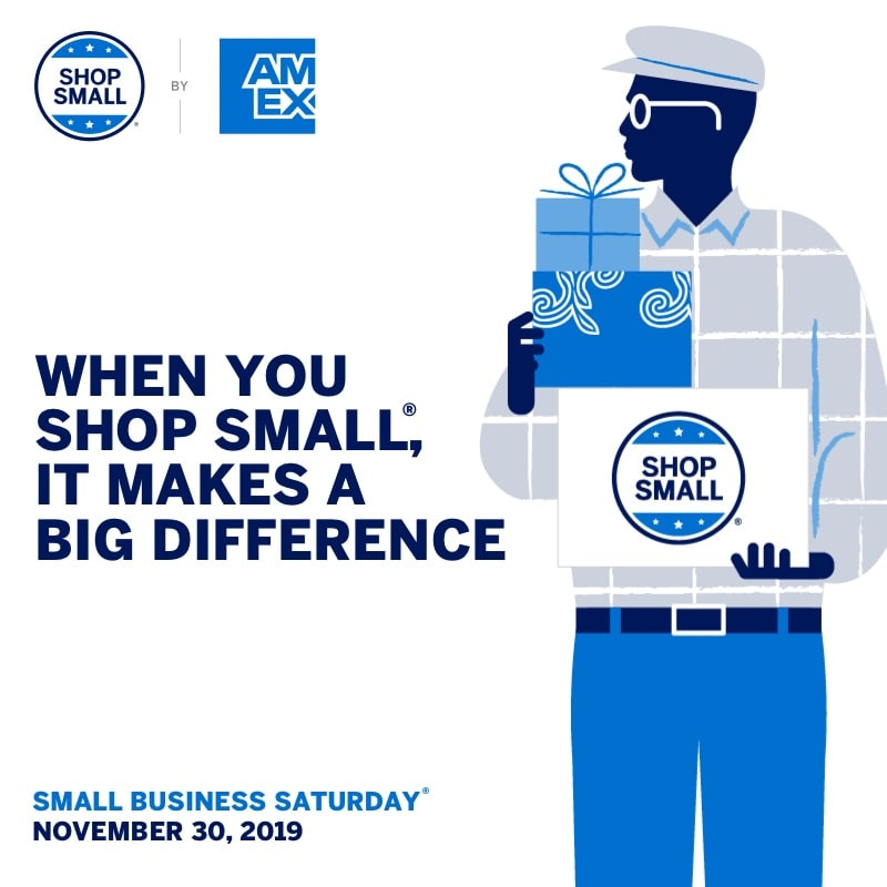 Shop Small This Saturday. Make A Big Impact.