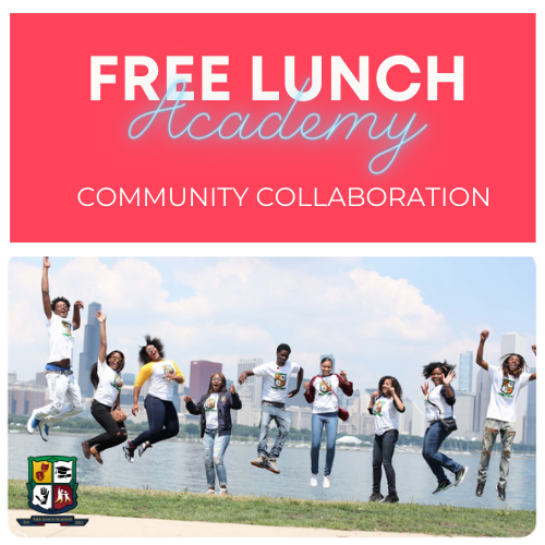 Group Of Kids From Free Lunch Academy Jumping In The Air By The Lake